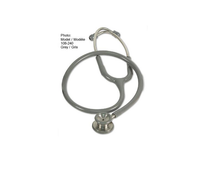 AMG 108-244 STETHOSCOPE, PEDIATRIC, BLACK, PREMIER ELITE EA/1