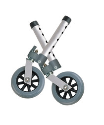 Drive 10115 Swivel-Lock Wheel 5 Inch 1pr/bx (Drive 10115)