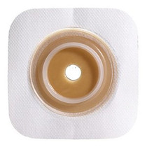 """ConvaTec 125261 SUR-FIT Natura Stomahesive Flexible Skin Barrier 70mm 2.75"""" W/ - FLANGE White COLLAR 10/Box"""