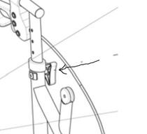 AMG A01-413 Height Adjustment Knob (AMG A01-413)
