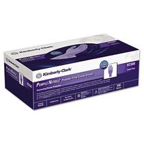 "Kimberly-Clark 55082 PURPLE NITRILE EXAM GLOVES, POWDER-FREE, SIZE MEDIUM 9.5"", BX/100, Case of 10"