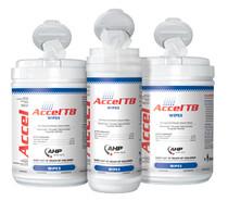 "Accel TB Wipes ACCWIP1-TB-10x10 Hydrogen Peroxide Hard Surface 10"" x 10"" (ACCWIP1-TB-10x10)"