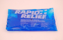 "Rapid Aid 12259 RAPID RELIEF GEL PACK COLD/HOT 5.25"" x 9"" REUSABLE BLUE GEL, Each"