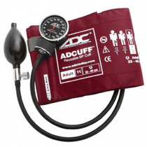 American Diagnostic Corp 720-11ABD Aneroid Sphygmomanometer Diagnostix™ 720 Series Adult Burgundy Nylon Cuff, 300 mmHg Calibration