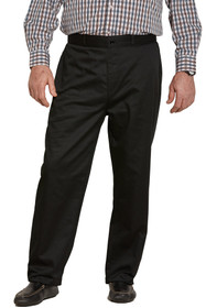 Ovidis 1-6001-90-2 Chino Pants for Men - Black , Timmy , Adaptive Clothing , L