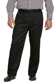Ovidis 1-6001-90-4 Chino Pants for Men - Black , Timmy , Adaptive Clothing , 1XL