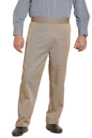 Ovidis 1-6001-11-4 Chino Pants for Men - Khaki , Timmy , Adaptive Clothing , XL