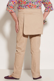 Ovidis 2-6001-11-3 Gab Pants for Women - Khaki, Sophie, Adaptive Clothing, L