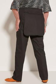 Ovidis 2-6001-90-3 Gab Pants for Women - Black, Sophie, Adaptive Clothing, L