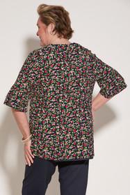 Ovidis 2-1001-89-2 Knit Top for Women - Navy, Cristy, Adaptive Clothing, M