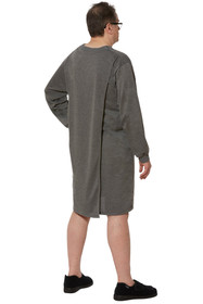 Ovidis 1-9101-91-3 Nightshirt for Men - Grey, Billy, Adaptive Clothing, L