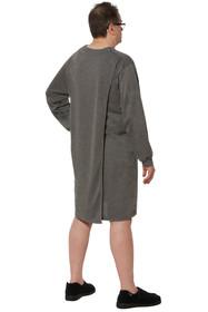 Ovidis 1-9101-91-5 Nightshirt for Men - Grey, Billy, Adaptive Clothing, 1XL