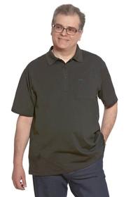 Ovidis 1-1101-90-1 Polo Shirt for Men - Black , Ralfie , Adaptive Clothing , 2XL