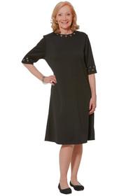Ovidis 2-4401-90-1 Fashionable Dress - Black , Rory , Adaptive Clothing , L