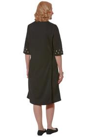Ovidis 2-4401-90-1 Fashionable Adaptive Dress, Black , Rory , Small