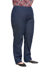 Ovidis 2-6202-86-6 Denim Pants for Women - Blue , Arie , Adaptive Clothing , 1XL