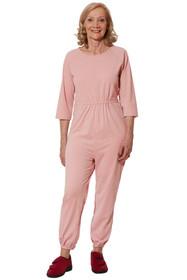 Ovidis 2-7301-30-2 Anti-Strip Jumpsuit for Women - Pink , Adaptive Clothing , L