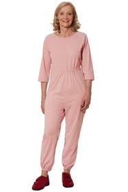 Ovidis 2-7301-30-4 Anti-Strip Jumpsuit for Women - Pink , Adaptive Clothing , 1XL