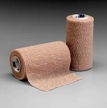 3M-2083 BANDAGE ELASTIC SELF-ADH COBAN 3in x 5yd N/S STRETCHED L/FREE CA/24
