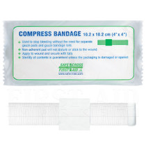 02424 BANDAGE COMPRESS 10.2 x 10.2cm