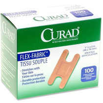 Medline NON25510-CA DRESSING ADHESIVE FABRIC KNUCKLE && STERILE LTX FREE CA/12 x 100's
