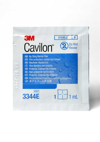 3M 3344E-CA, FILM BARRIER CAVILON NO STING 1ml && WIPE CA/6 x 30s
