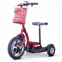 eWheels EW-18 Stand-N-Ride Recreational Scooter, Red