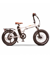 EWheels EW-Folding Electric Bike White