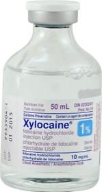 Aspen Canada 014 XYLOCAINE 1% plain, 50mL
