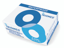 TrioMed MAT-400-5 Antimicrobial Medical Adhesive Tape: Porous Polymer, 5cm x 5m, box of 6 rolls
