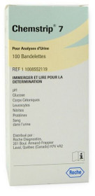 Roche 11008552119 Chemstrip 7 Urine Test Strips 100/btl