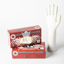 GLOVE EXAM LATEX POWDERED N/S SMALL BX/100 024-DIS-016A