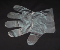 GLOVE UTILITY CO-POLY P/F N/S LARGE BX/100 197-40-3030