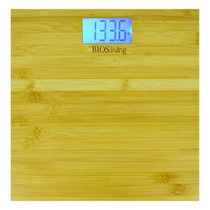BIOS Living SC422 Bamboo Bathroom Scale