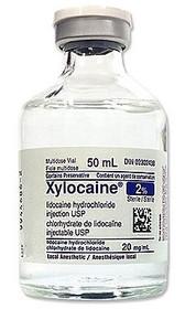 Aspen Canada 023 XYLOCAINE 2% PLAIN W/PRESERV 50ml VIAL