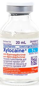 Aspen Canada 120 XYLOCAINE 1% w/EPINE 1:200M 20ml VIAL (00001805)
