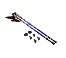 Keenfit Fitness Walking Poles 2-Piece - Blue