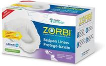 LINER URINAL ZORBI BIODEGRADABLE w/PADS BX/20 P28 635-764-117