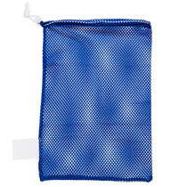 BAG LAUNDRY MESH w/DRAWSTRING B-LOCK CLOSURE BLUE 18 x 30in 463-LBMW/1830/BL
