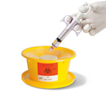 BASIN WASTE SAFETY-SPLASH w/ PAD GOLD 500ml CA/24 053-DYNJSPLASH1