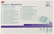 Tegaderm-1684 DRESSING TEGADERM CLEAR DIAMOND PATTERN FILM 6 x 7cm CA/4 x 100
