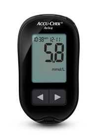 ACCU-CHEK BLOOD GLUCOSE MONITOR AVIVA CARE KIT BLACK (06988709164) (Accu-Chek 06988709164)