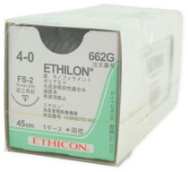Ethilon-662G SUTURE NYLON ETHILON BLK 4-0 18in FS-2 BX/12