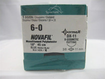 Dermax 8886441913  SUTURE NOVAFIL MONO BLUE 6-0 18in CE-2/C-1
