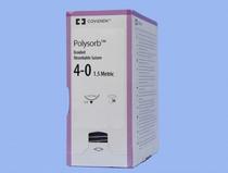 Polysorb-LL101 SUTURE POLYSORB CTD BRD UNDYE 4-0 60in REEL NON-NDL BX/24