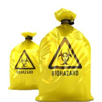 Medegen-MCD2022YX BAG BIOHAZARD 20 x 22in YELLOW X-STRONG CA/500