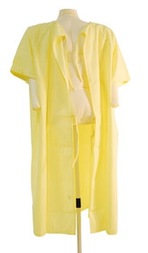 GOWN CLOTH PATIENT YELLOW UNISIZE (920-30007) Discontinued (14063)