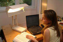 SADelite Day-Light Desk Lamp for Seasonal Affective Disorder (SAD) (NLT-SAD)