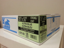 Ralston-2975-08 BAG GARBAGE 35 x 50in STRONG BLUE CA/125 57760065