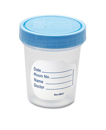 AMG-DYND30335 CONTAINER SPECIMEN 4oz N/S w/SCREW- ON LID/POLY/PACKED CLEAN CA/500